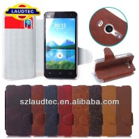 For Xiaomi 2S High Quality PU Leather Stand Case With Card Slots Cover Mobile Phone Accessories Laudtec