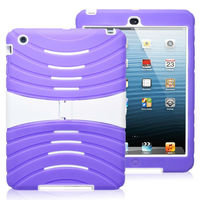 For iPad Mini Hard Case! Wholesale Simple Style Hard Case for iPad Mini