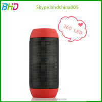 Interactie 3D audio sund Pulse music angel hoverith led light Portable TF Card FM Radio Playing Bluetooth Speaker