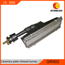 CE approved automatic salamendar burner gas cylinder with burner