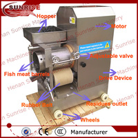 180 kg/h with low price industrial shrimp peeler