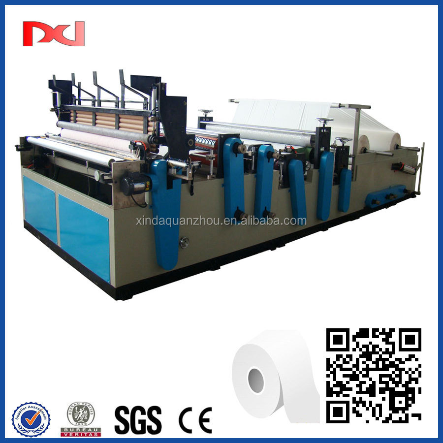 2016 New Style Toilet Paper Rewinding Perforating Machine
