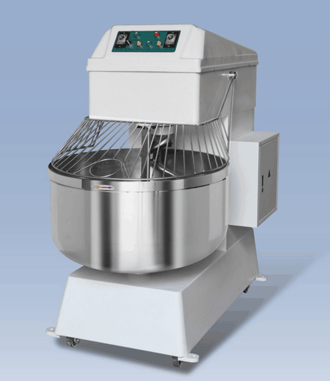 Large double action double speed Spiral dough mixer series 80 L cheap price