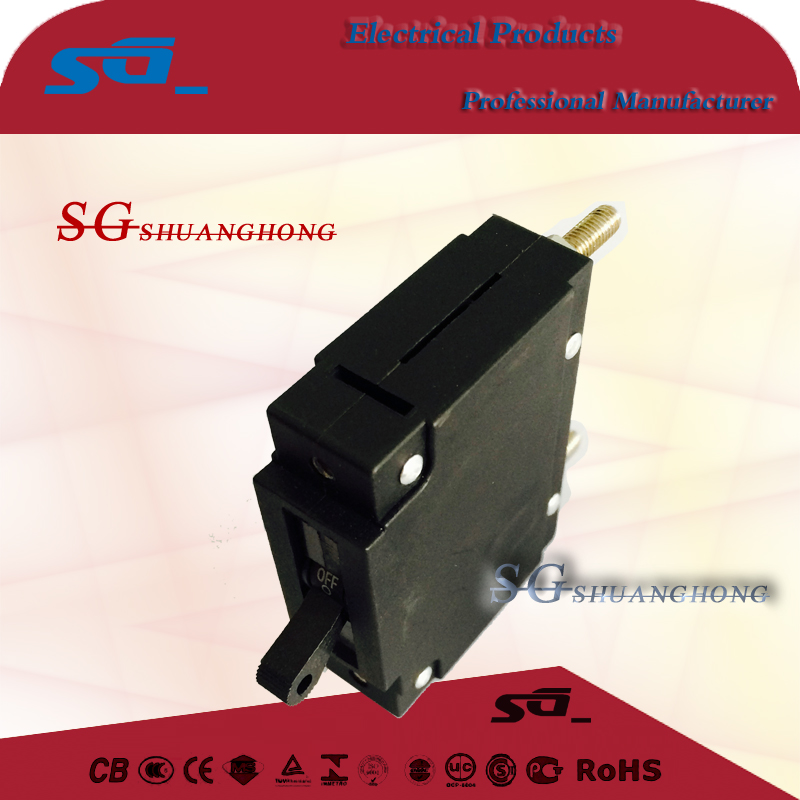 IMB-50 No need cooling period hydraulic magnetic circuit breaker for power and communication