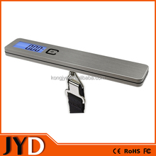 JYD-ELS10 New Portable Pocket Weight Scale Digital, Baggage Scale 50kg 10g, Stainless Steel Digital Luggage Scale