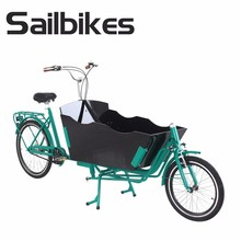Electric cargo bike tricycle