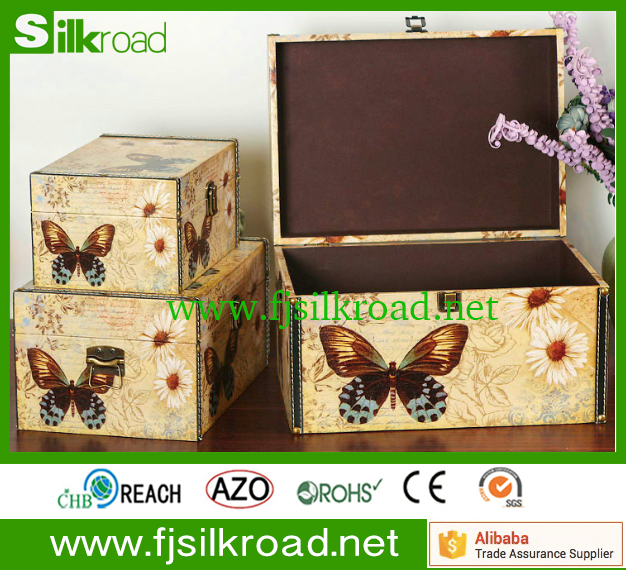 American home pu leather New design storage box with lid