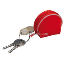 Fashion PU mini coin purse with key ring