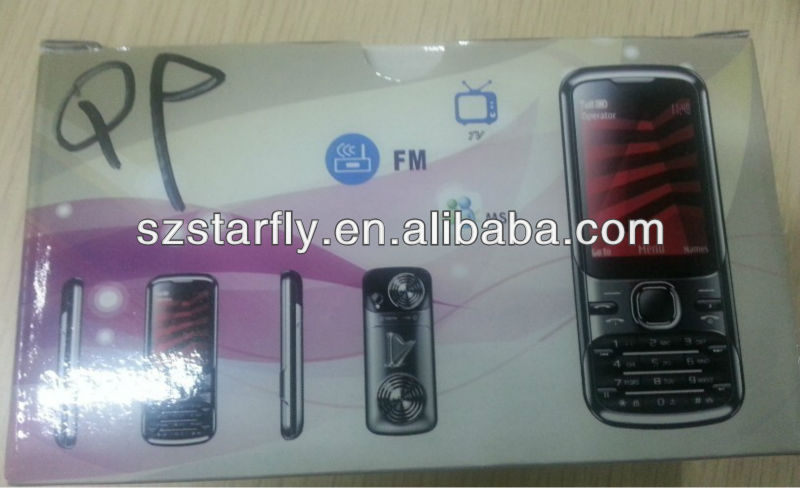 Metal design 2.4 inch China celular phone with TV,Bluetooth,Camera,BL-5F battery celualr
