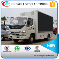 FOTON 4*2 P6 Lifting LED Mobile Advertising Truck