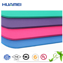 15mm different colors of neoprene custom printed exercise mat yoga mats