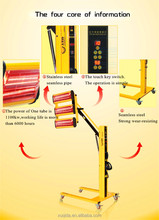 portable Infrared golden color heating lamp FOR SPRAY BOOTH