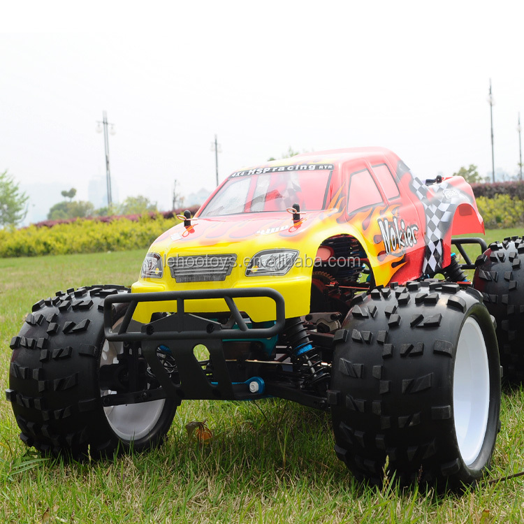 2.4G RC 1/8 scale 4WD Nitro Powered Off-road Monster Truck HSP truck 94862 RC gas truck for big boy