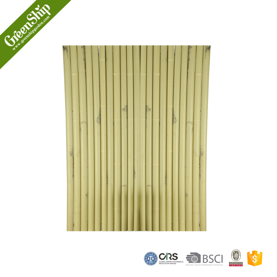 High quality Artificial bamboo poles fence/earth friendly/lightweight _ GreenShip