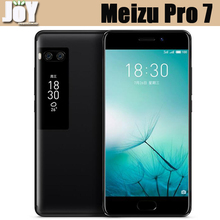Global ROM 5.2 Inch Dual Camera 4GB RAM Octa Core Helio P25 Meizu Pro 7 AMOLED Display Android 7.0 4G LTE Mobile Phone