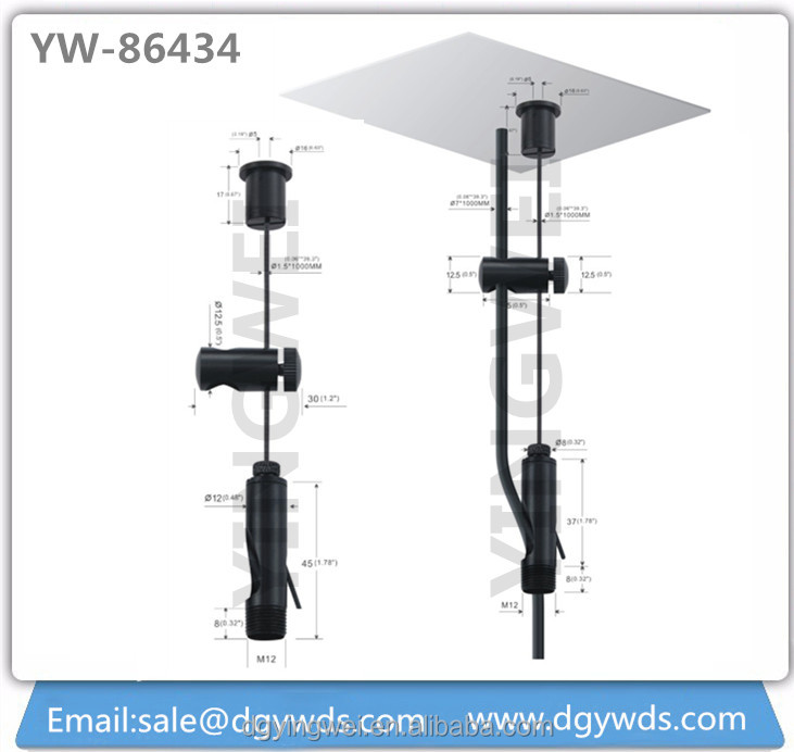 Adjustable Wire Hanging System for Panel Lights