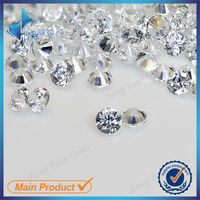Manufacturer of High Quality White Micro Pave Synthetic Loose CZ