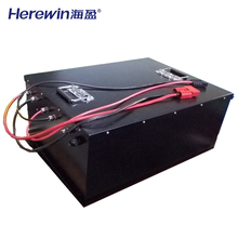 Deep cycle large battery 80V 60Ah lithium ion phosphate iron energy storage EV ternary battery lithium