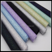 (BY3008 ) Hot Selling Elastic Woven Glitter Leather For Shoes Making