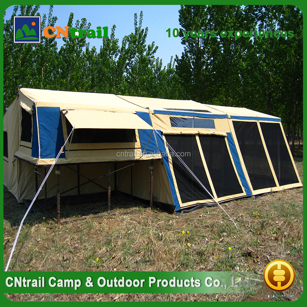 High quality Cheap folding bed camping trailer tent