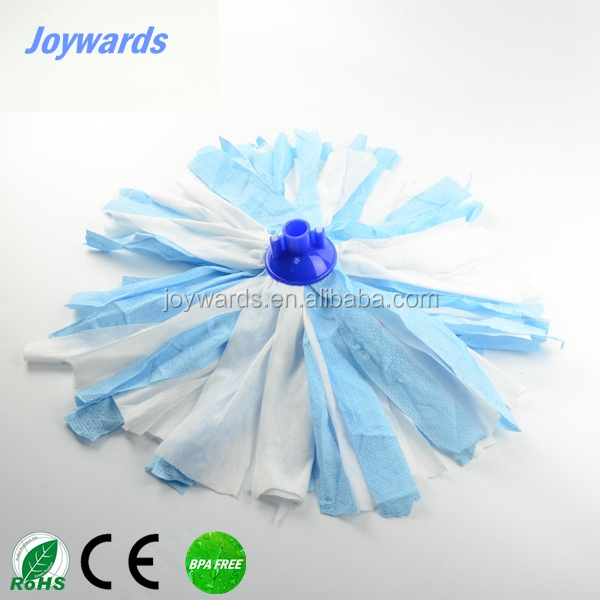 Replacement Magic Household Dust Cleaning Round Mop Head