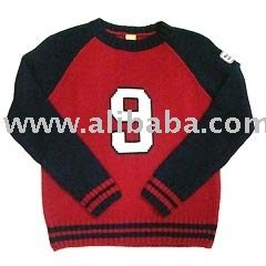 Sweaters & TShirts Round Neck Acrylic Wool Sweater Item Code: KR-3589