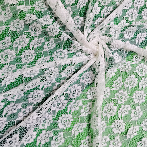 Wholesale elastic tissu en dentelle guipure french lace fabric