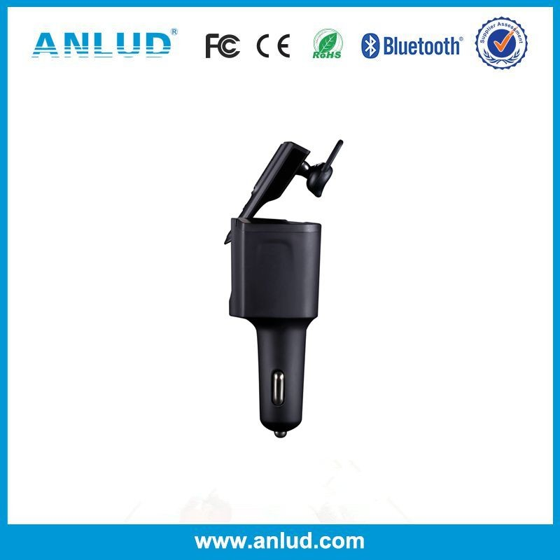 high quality bluetooth electric handsfree dual usb car charger