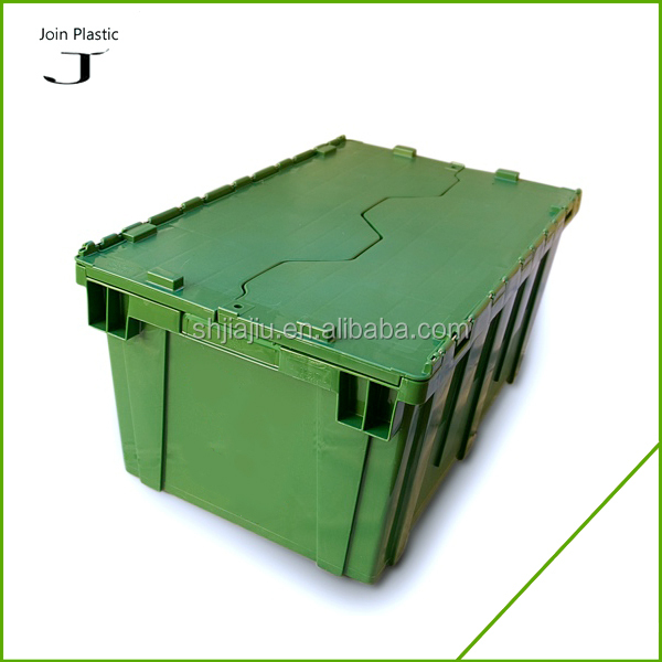 Attach Lids 35kgs Moving Plastic Heavy Duty Storage Bin