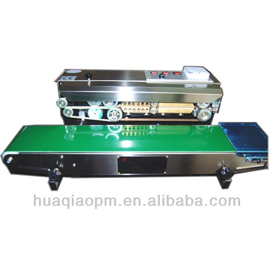 Horizontal continuous band sealers with printing SF-150W