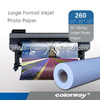 Inkjet RC-Base RC Woven/Glossy Photo Paper 180gr