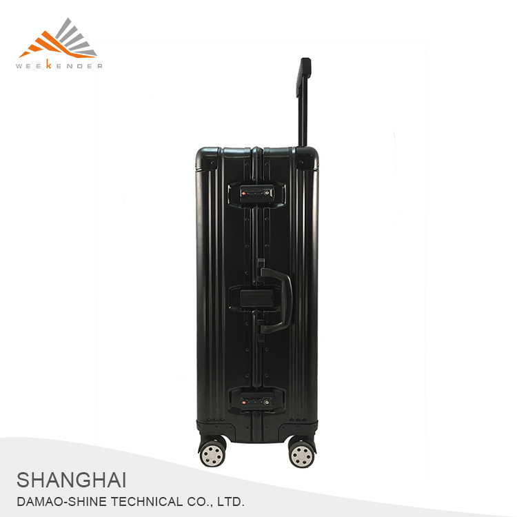 Trip Hard Type Wheeled Aluminum Trolley Case