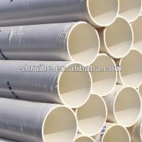 large plastic drain pipe