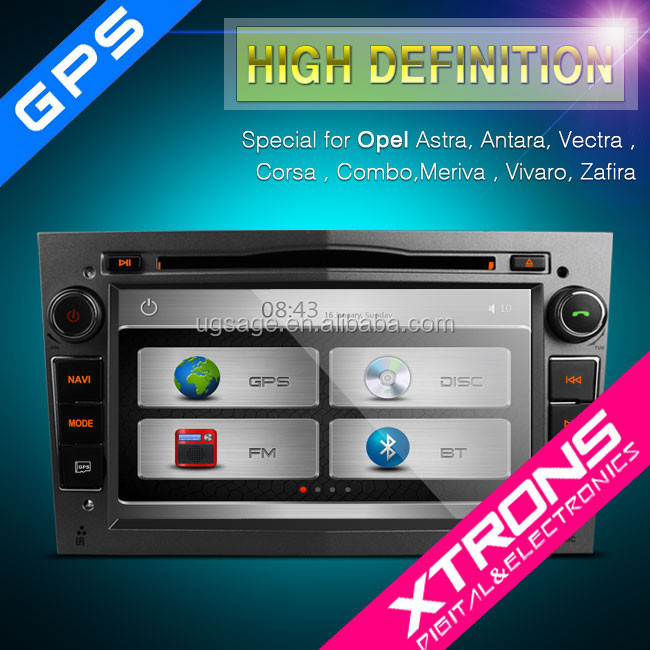 "Xtrons PX71OLO-S - 7"" auto radio car dvd gps navigation WIFI & 3G car radio Bluetooth AUX IN"