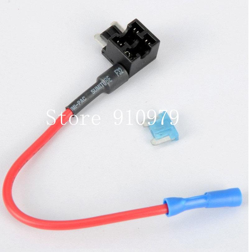 cheap fuse box tap fuse box tap deals on line at alibaba com get quotations acircmiddot shiping100 pcs lot 12 24v atm apm add a circuit fuse tap piggy back