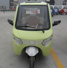 electric motocycle for three wheels with 1000w motor and cabin for passengers model sale