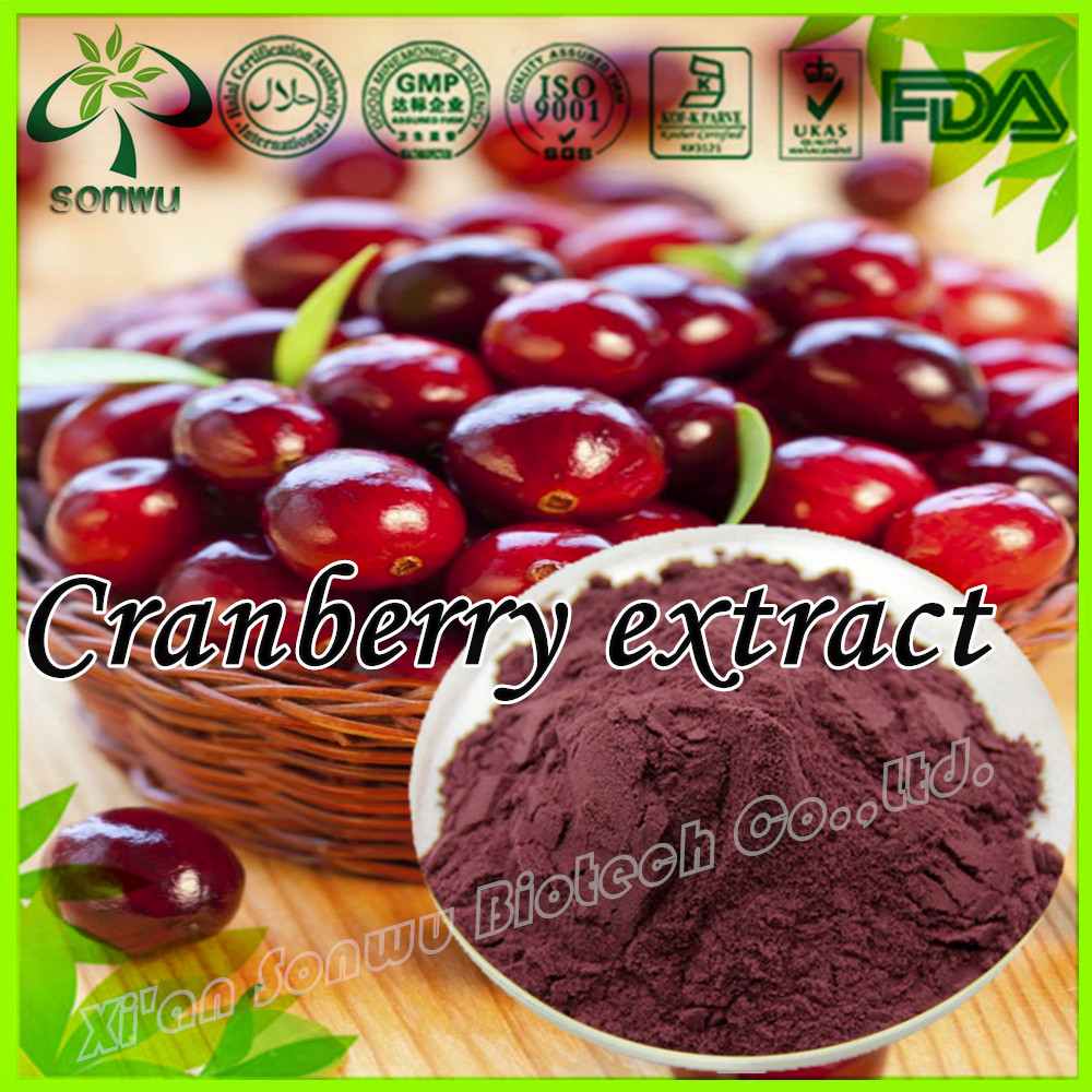 Cranberry Extract/Cranberry Extract Powder/Cranberry Juice Extract