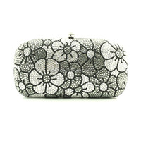 Fashion Handmade Crystal Fancy Ladies Clutch Purses