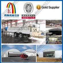 Automatic corrugated roofing sheet curving machine