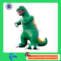 giant advertising character inflatable dragon