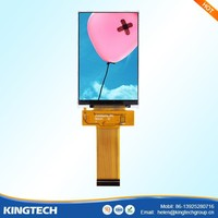 "320x480 Free viewing angle 3.5"" ips tft lcd screen"