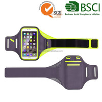4.7 and 5.5 inch fabric fitness running sport armband