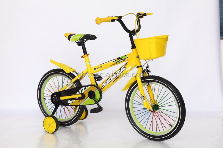 12 16 20 inch kids bicycle with color frame