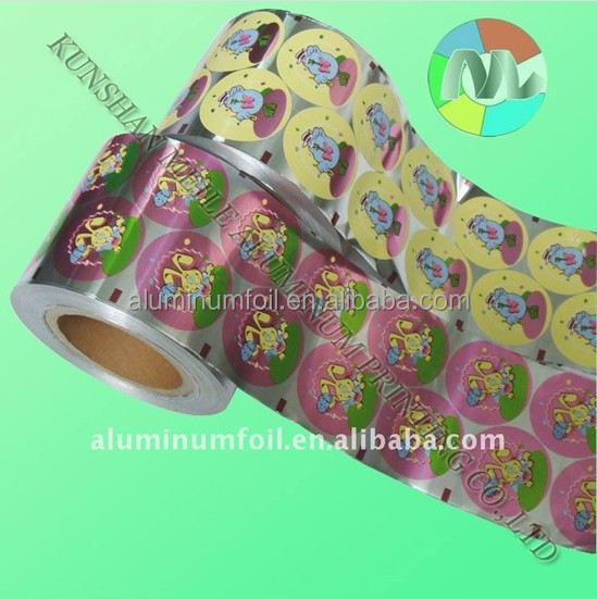 38micron aluminium foil paper for printing coin chocolate wrapping
