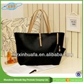 Woman Handbag Pu Woman Handbag Mature Woman Black Leather Handbag