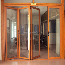 32 Inch Timber Bifold Doors Crank Custom Aluminium Theamal Break Soundproof Hopper Double Modern Exterior Doors