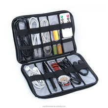 Factory Wholesale Cheap Digital Products Organizer Cable Data Line Organizer Grey Color