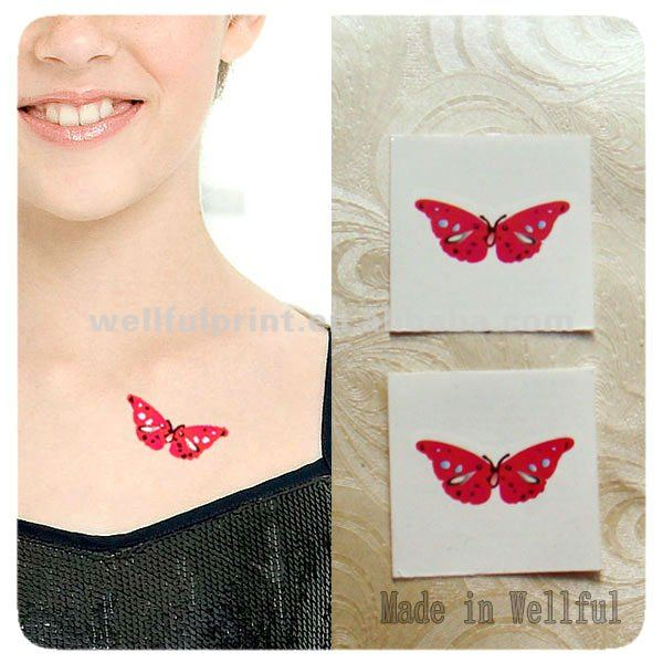 Temporary Tattoo Stencil (WF-6025)