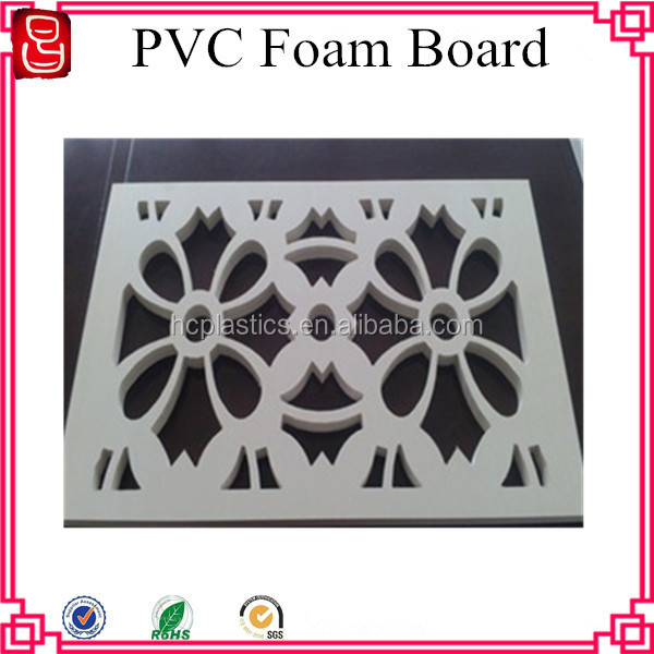 4x8 High Density Waterproof Plastic PVC Foam Sheet