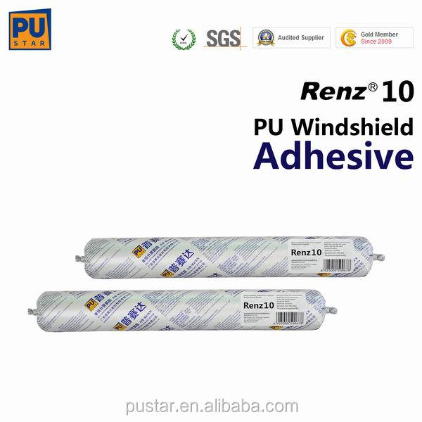 Chiemical Rubber/ side glass/ windscreen Renz10 Polyurethane Sealant for AutoGlass bonding performance much better than silicone
